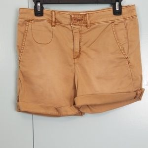Anthropologie chino tan short size 26 Relaxed -P1